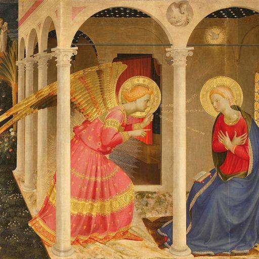 Annunciazione di Luca Signorelli, Cortona
