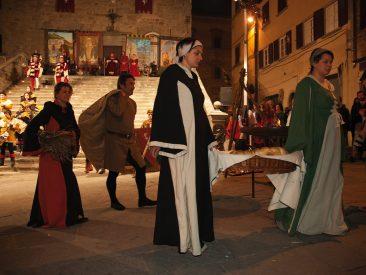 Giostra dell'archidado, Cortona