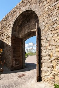 Porta Colonia, particolare