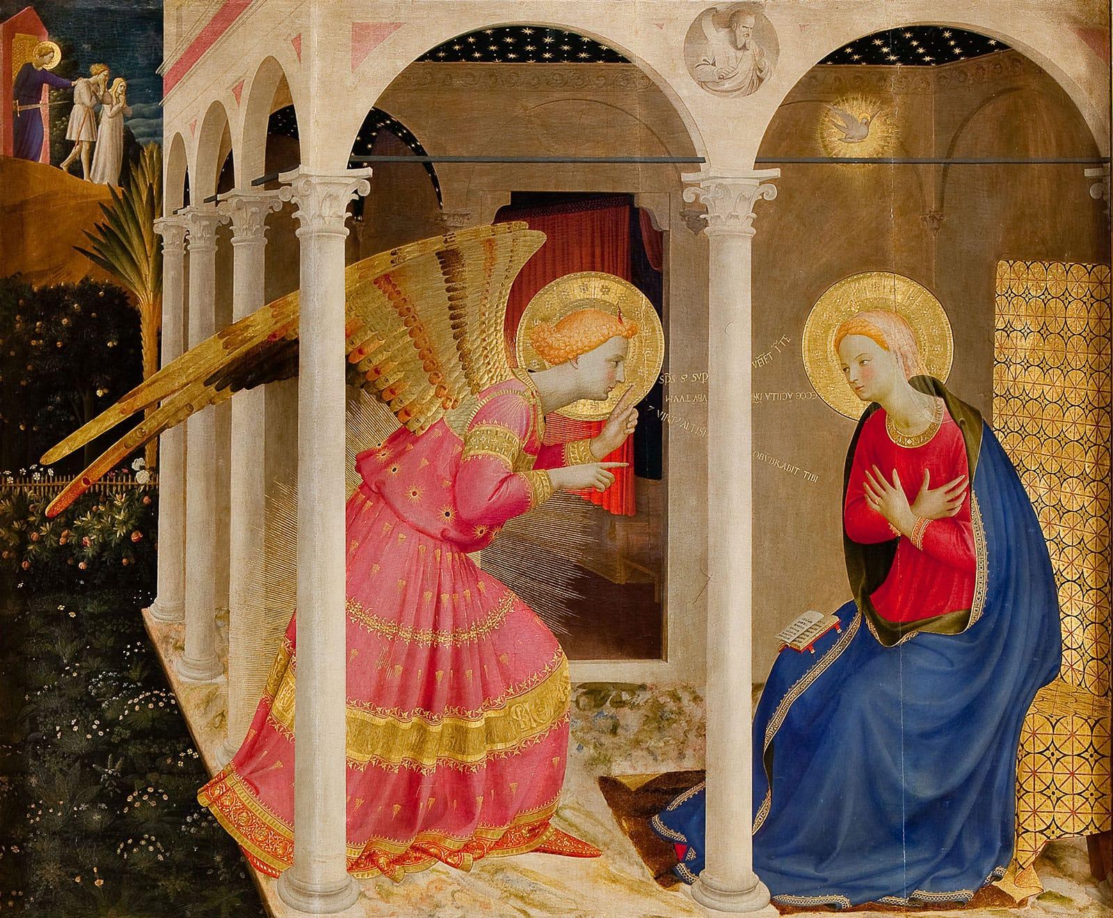 Annunciazione, Luca Signorelli, Cortona