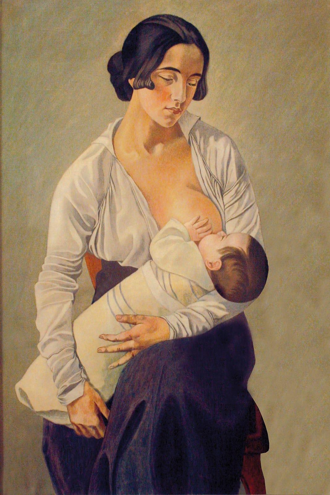 Maternità, Gino Severini - Cortonaweb