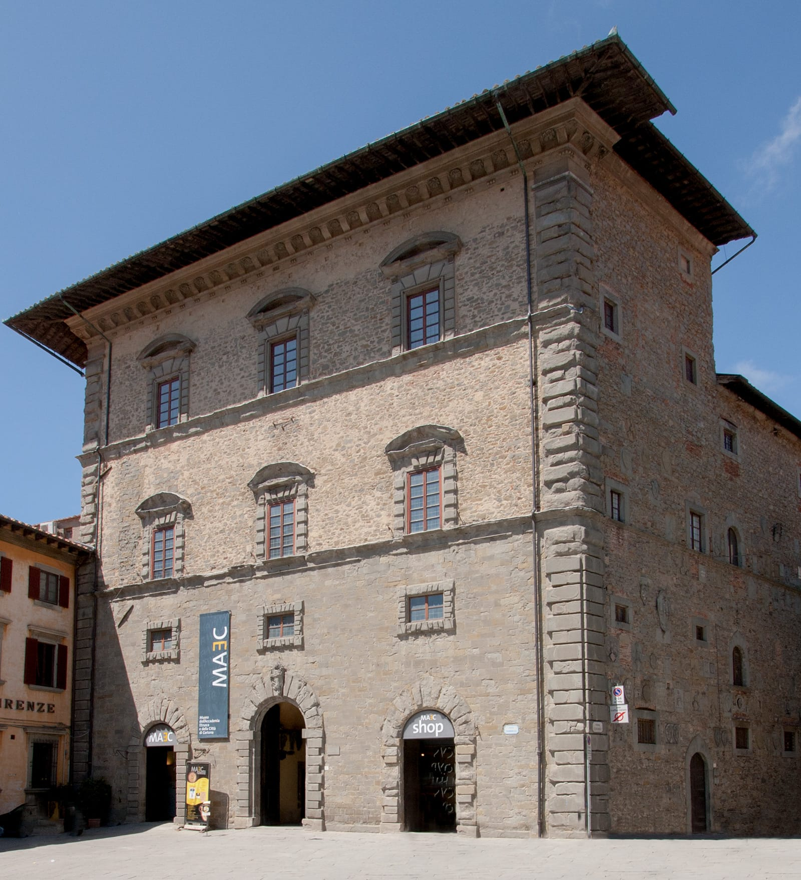 Palazzo Casali, sede del MAEC, Cortona