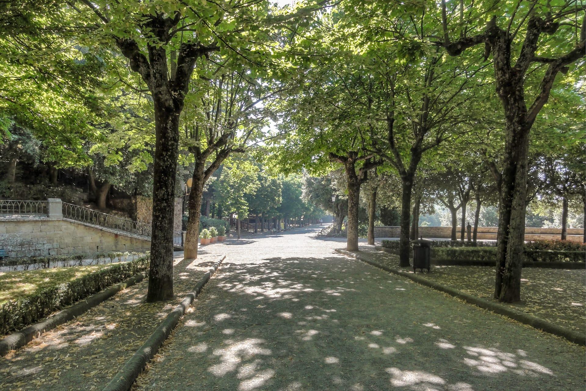 Giardini del Parterre, Cortona - Storia della città | Cortonaweb