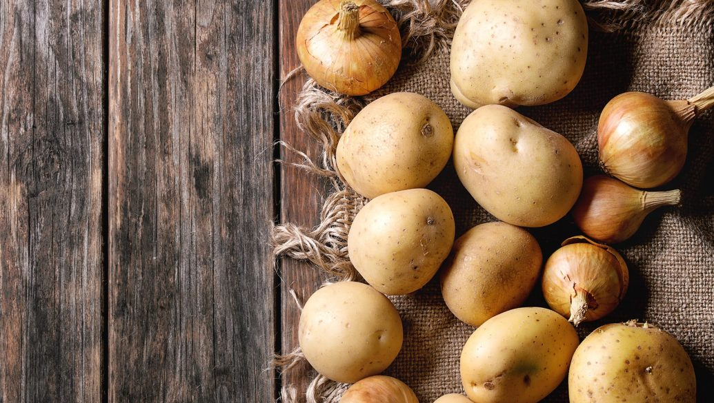 Patate e cipolle alla brace - Ricette tipiche cortonesi | Cortonaweb