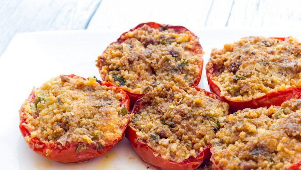 Pomodori ripieni di pane - Ricette tipiche cortonesi   Cortonaweb