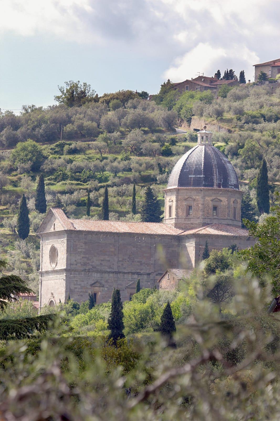 Santa Maria delle Grazie al Calcinaio, Cortona - Storia della città | Cortonaweb
