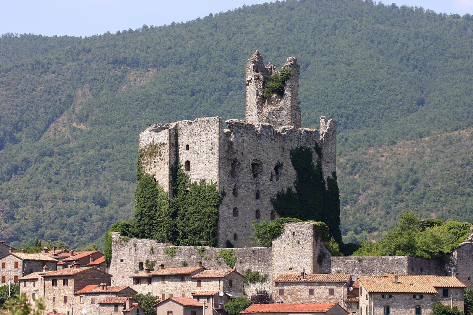 Rocca di Pierle, Cortona