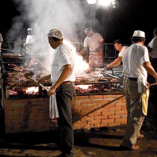 Sagra della bistecca, Cortona