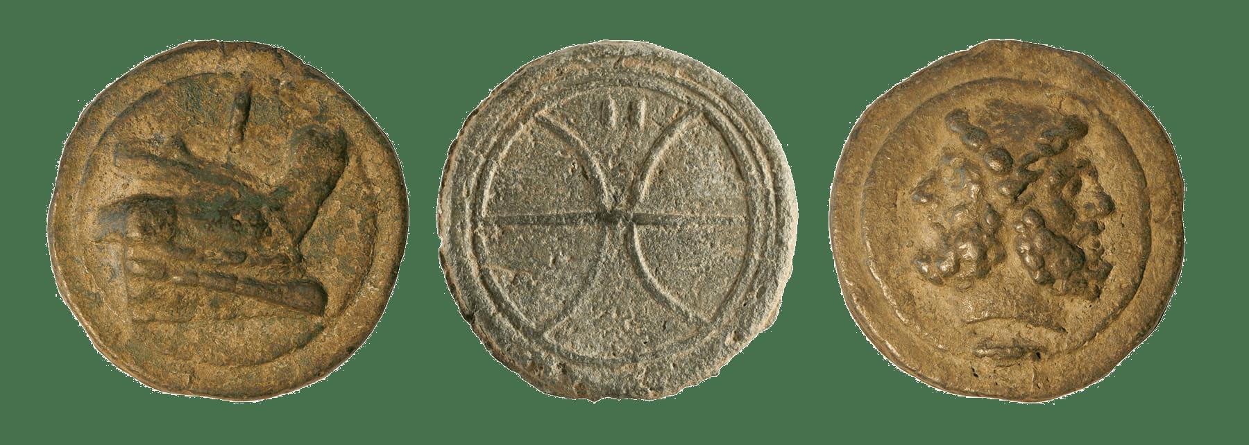 Monete Etrusche: museo MAEC