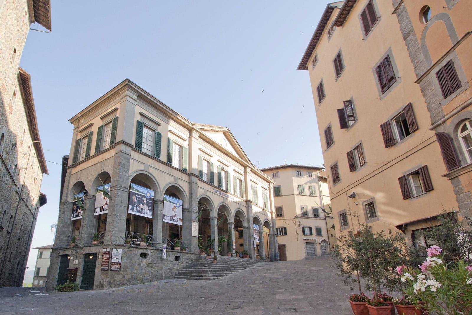 Piazza Signorelli, Cortona