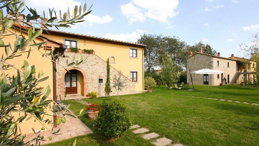 Il giardino degli ulivi agriturismo in cortona a cortona for Il giardino degli ulivi monteviale